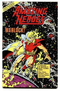 AMAZING HEROES #43 1984-In Depth WARLOCK history