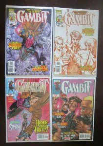 Gambit comic lot all 33 different books 8.0 VF