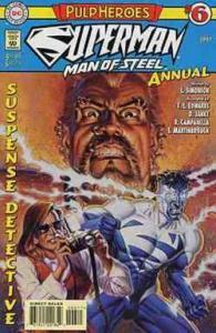SUPERMAN MAN OF STEEL (1991) ANN  6 (1997;3.95 CVR) VF- COMICS BOOK