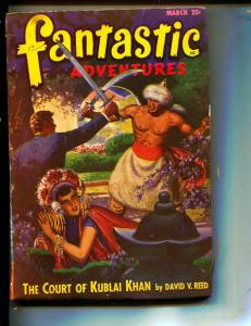Fantastic Adventures-Pulp--3/1948-Bernie Kamins-David V. Reed