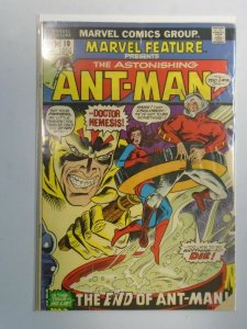 Marvel Feature #10 Ant-Man 2.5 GD+ water damage (1973 1st Series)