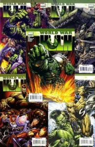 WORLD WAR HULK (2007) 1-5  the COMPLETE series!