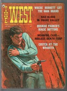 West 6/1968-Maverick-Custer-Quanah Parker-Guy Carriero art-VG