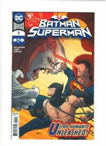 Batman/Superman #11 NM- 9.2 DC Comics 2020 vs. Ultra-Humanite