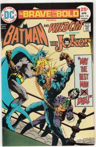 Brave and the Bold, The #118 (Apr-75) NM/NM- High-Grade Batman