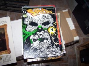 The Spectre #1 (Dec 1992, DC  ) glow in the dark cover