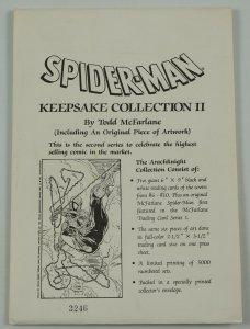 Spider-Man Keepsake Collection II by Todd McFarlane - wolverine limited to 5000
