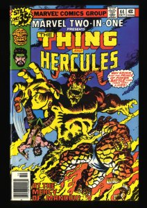 Marvel Two-In-One #44 NM+ 9.6