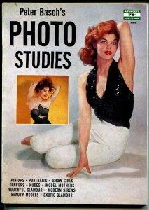 Peter Basch's Photo Studies #350 1957-Fawcett-Julie Newman-Tina Louise-VG/FN