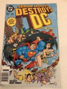 Sérgio Aragonés Destroys DC #1 : DC 1996 VF/NM; scarce Newsstand Variant