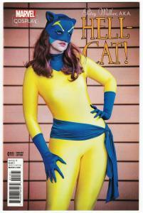 Patsy Walker AKA Hellcat #11 Cosplay Variant (Marvel, 2017) NM