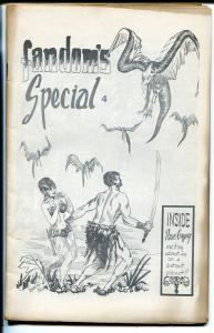 Fandom's Special #4 1966-Bob Cardozo-Marv Wolfman-Mike Vosburg-FN-
