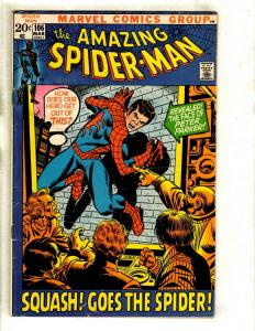Amazing Spider-Man # 106 FN Marvel Comic Book Green Goblin Mary Jane GK3