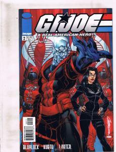 Lot Of 6 GI Joe Image Comic Books # 2 6 7 8 9 10 Destro Snake Eyes Storm J239