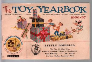 Toy Yearbook 1956-Lionel-Gilbert-Mattel-Tonka Structo-Ideal-Daisy-Donald-Mickey-