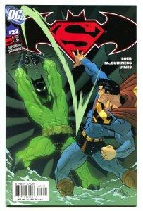 Superman/Batman #23 1st TIME DRAKE as BATMAN BEYOND DC 2005