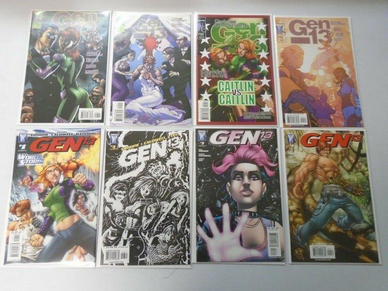 Gen 13 comic lot 38 different 8.0 VF (2002-11 Wildstorm)