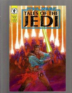 Star Wars Tales Of The Jedi Complete Dark Horse Comics Ltd Series #1 2 3 4 5 SB5