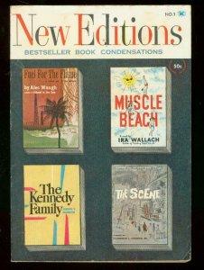 NEW EDITIONS MAGAZINE #1 1960-IRA WALLACH-ALEC WAUGH VG/FN
