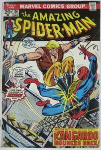 AMAZING SPIDER-MAN  #126 (Marvel,11/1973) FAIR/GOOD(FR/G) Kangaroo! Conway&Andru