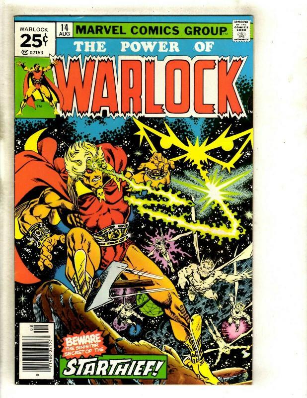 Warlock # 14 NM- Marvel Comic Book Thanos Avengers Hulk Thor Gamora Pip GK4