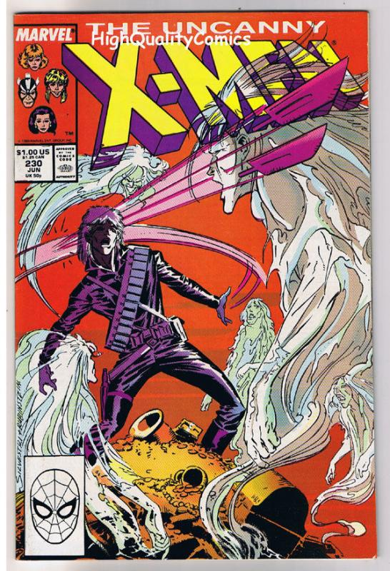 X-MEN #230, NM-, Wolverine, Chris Claremont, Uncanny,, more in store