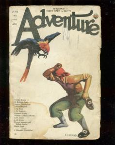 ADVENTURE PULP-6/10/23-PIRATE & PARROT CVR-85 YEARS OLD-fair FR