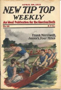 New Tip Top Weekly 4/24/1913-Frank Merriwell cover & story-VF-