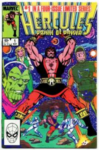 Hercules Prince of Power #1 (Marvel, 1984) VF