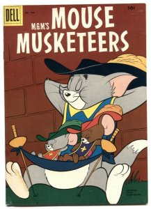 Mouse Musketeers -Four Color Comics #764 1957 G