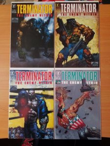Terminator The Enemy Within 1-4 Complete Set Run! ~ NEAR MINT NM ~ 1992