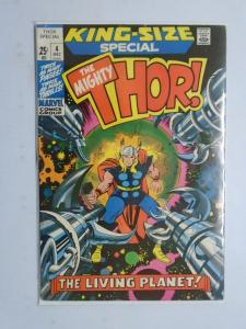 Thor (1st Series) Annual #4, Reminder Mark 4.0, (1971) King-Size Special