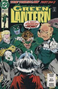 Green Lantern (3rd Series) #34 FN; DC | save on shipping - details inside