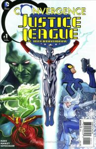 Convergence: Justice League International #1 VF/NM; DC | save on shipping - deta