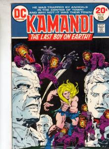 Kamandi the Last Boy on Earth #8 (Aug-73) VF/NM High-Grade Kamandi