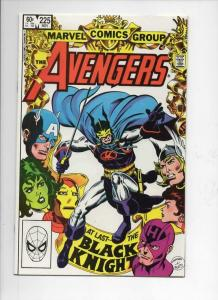 AVENGERS #225, VF/NM, Black Knight, Iron Man, 1963 1982, more Marvel in store