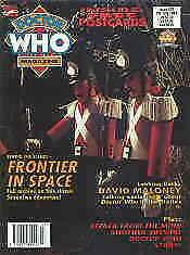 Doctor Who Magazine #201 VG; Marvel UK | low grade comic - save on shipping - de