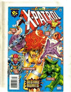 7 Comics X-Patrol 1 Magnetic Men 1 Speed Demon 1 Iron Lantern 1 JLX 1 +++ J54