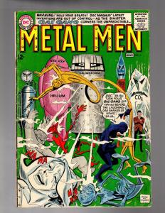METAL MEN 6 VERY GOOD March 1964