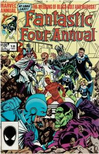 Fantastic Four Annual #18, VF