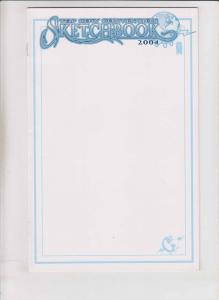 Top Cow Convention Sketchbook 2004 VF/NM blank variant - image comics rare
