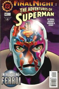 Adventures of Superman #540 FN; DC   save on shipping - details inside