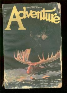 ADVENTURE PULP-NOV 30 1921-J ALLAN DUNN-WC TUTTLE-reading copy FR