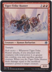 Magic the Gathering: Adventures in the Forgotten Realms - Tiger-Tribe Hunter