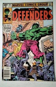 The Defenders #81 (1980) Marvel Comic Book J757