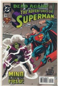 Adventures of Superman #519 (DC, 1995)