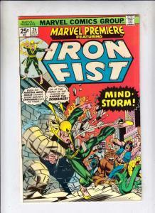 Marvel Premier #25 (Oct-75) VF/NM High-Grade Iron Fist