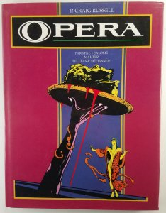 Opera by P Craig Russell #255/325 Signed & Numbered HC Eclipse Parsifal Salome