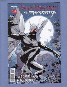 Van Helsing vs Frankenstein #1 NM Variant Cover B