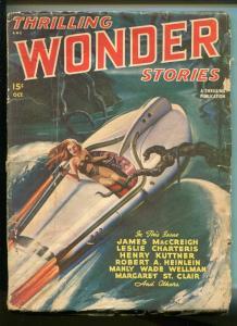 THRILLING WONDER STORIES 10/1947-EARLE BERGEY-ROBERT HEINLEIN-PULP-fr